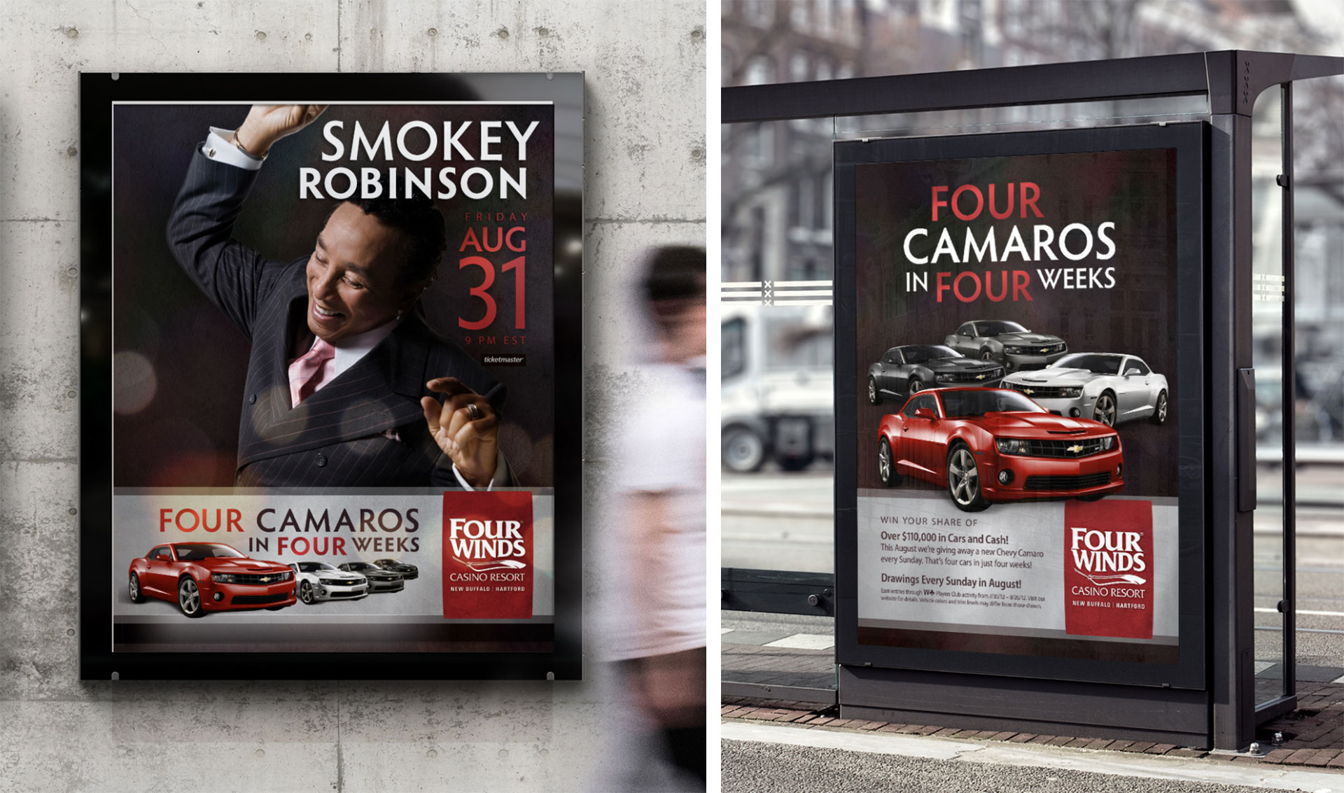 Four Winds Casino Campaign