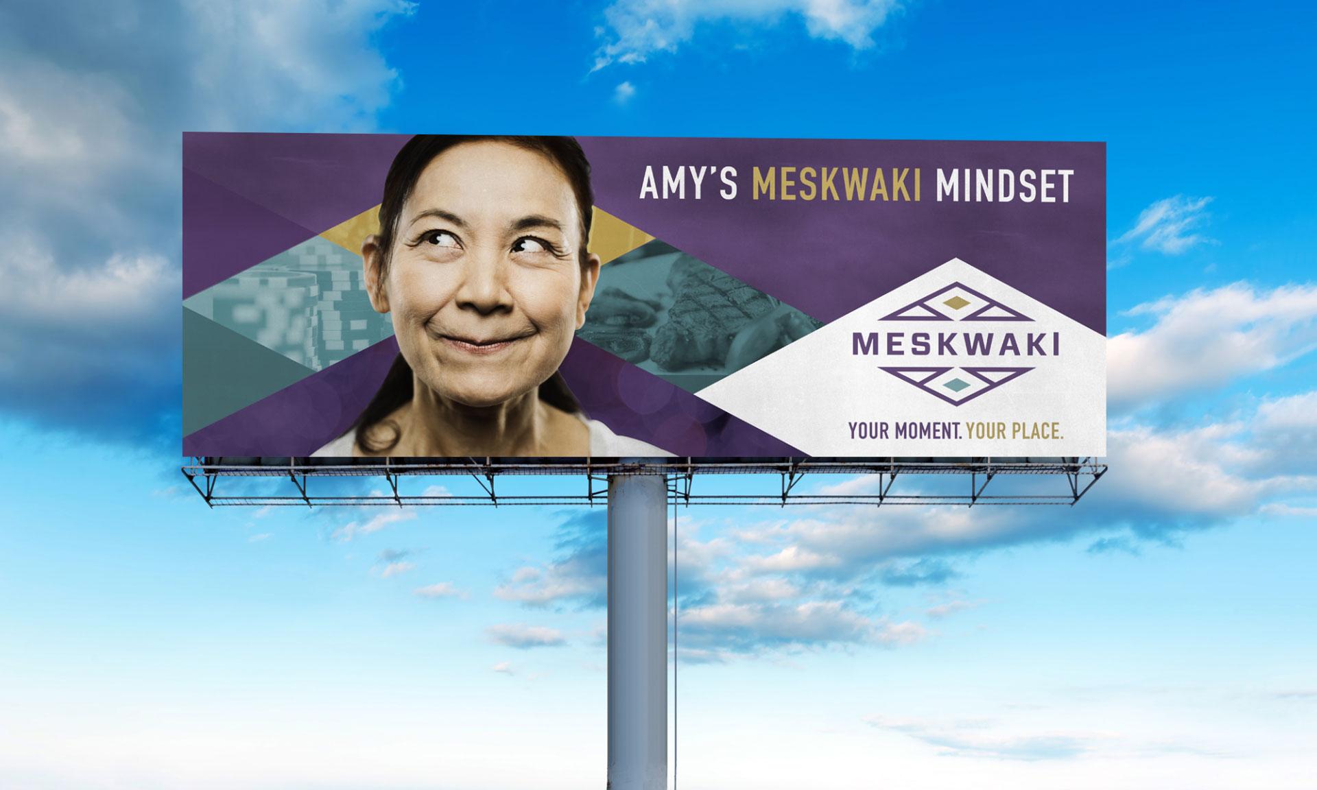 Meskwaki Casino Billboard